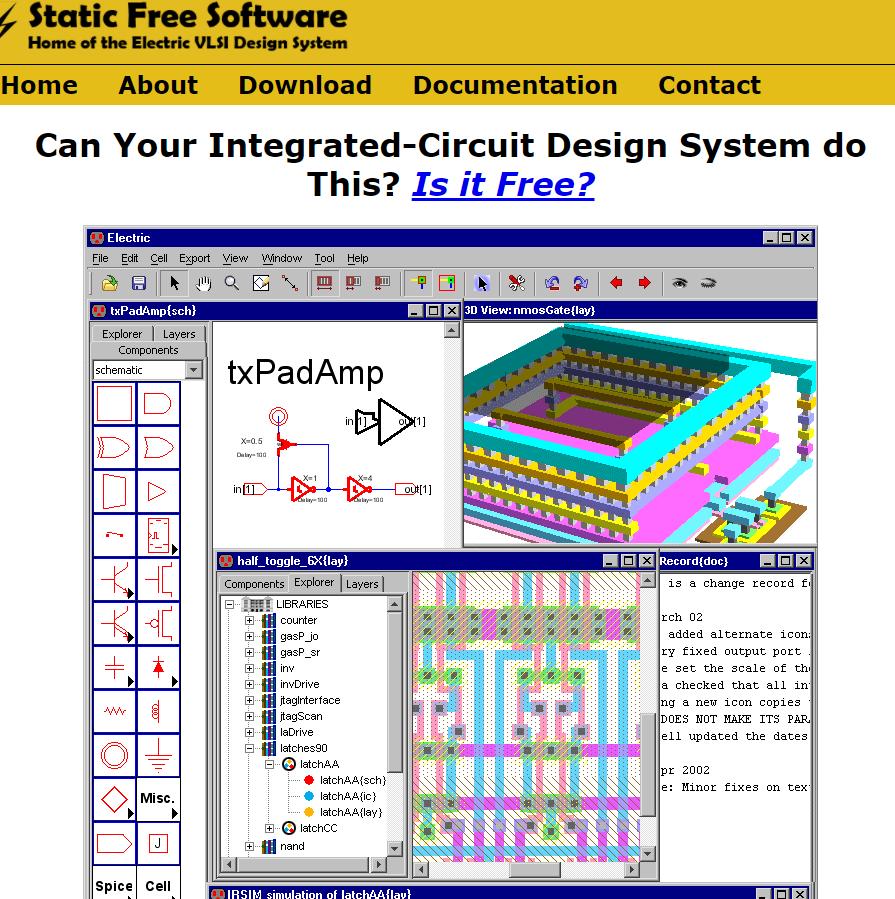 Programa para Diseñar Circuitos Eléctricos - Static Free Software