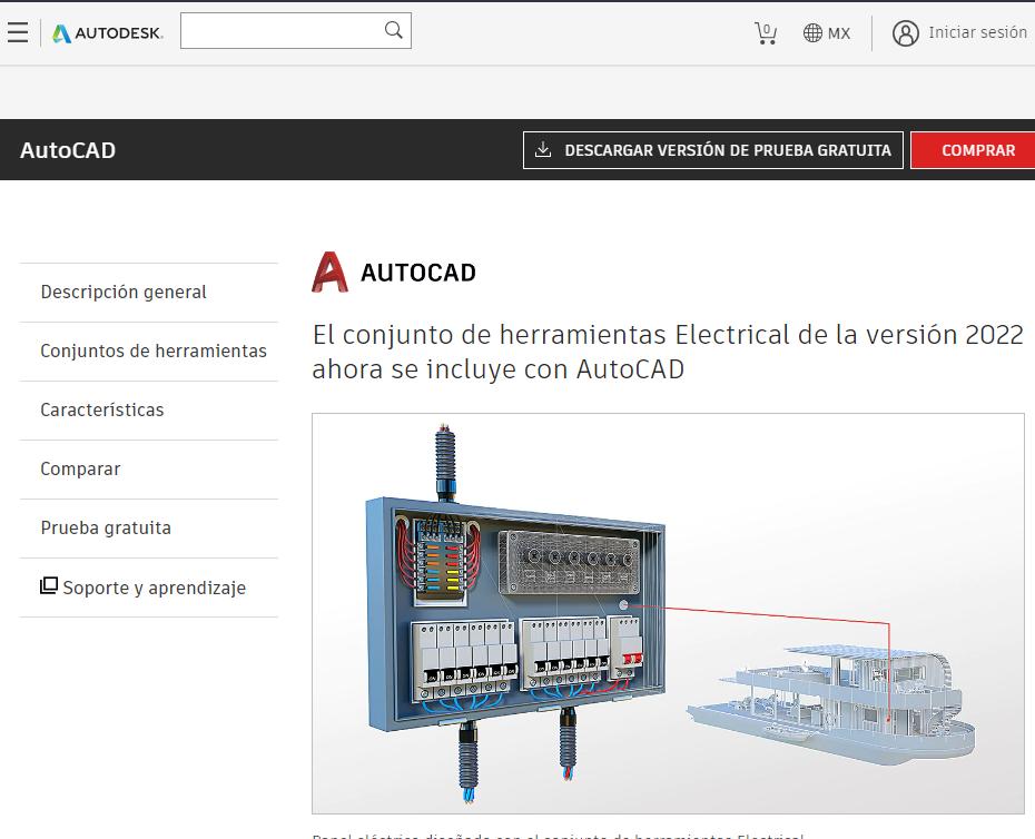 Programa para diseñar circuitos electricos - AutoCad Electrical Eagle