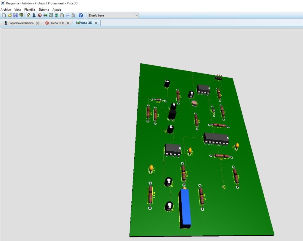 Programa para diseñar circuitos electricos